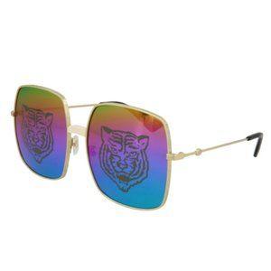 Gucci Double GG Interlocking Tiger Sunglasses